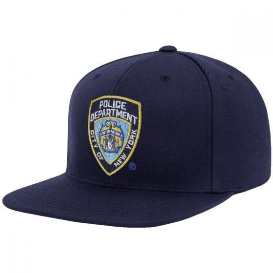 Boné com Regulador de Plástico YP NYPD Emblem - Navy