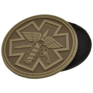 Emblema Morale Hazard 4 3D Combat Caduceus Paramedic - Coyote