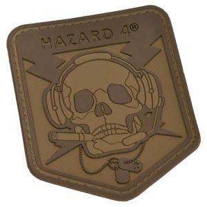 Emblema Morale Hazard 4 3D Operator Skull - Coyote