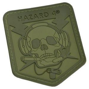 Emblema Morale Hazard 4 3D Operator Skull - Verde OD