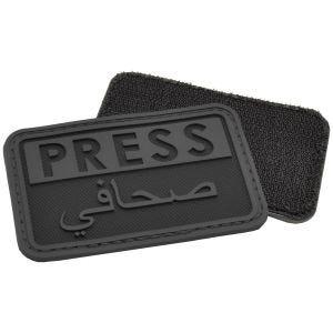 Emblema Morale Hazard 4 3D Press / Arabic Reporters - Preto