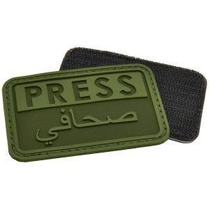 Emblema Morale Hazard 4 3D Press / Arabic Reporters - Verde OD