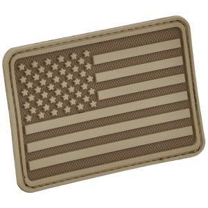 Emblema Morale Hazard 4 USA Flag Left Arm - Coyote