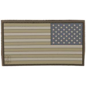 Emblema Morale Grande Maxpedition Reverse USA Flag - Arid