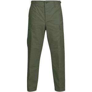 Calças de Uniforme Propper BDU Ripstop de Polialgodão Verde-Azeitona